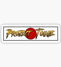 Gold Project Touge Sticker