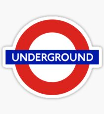 Underground London Sticker