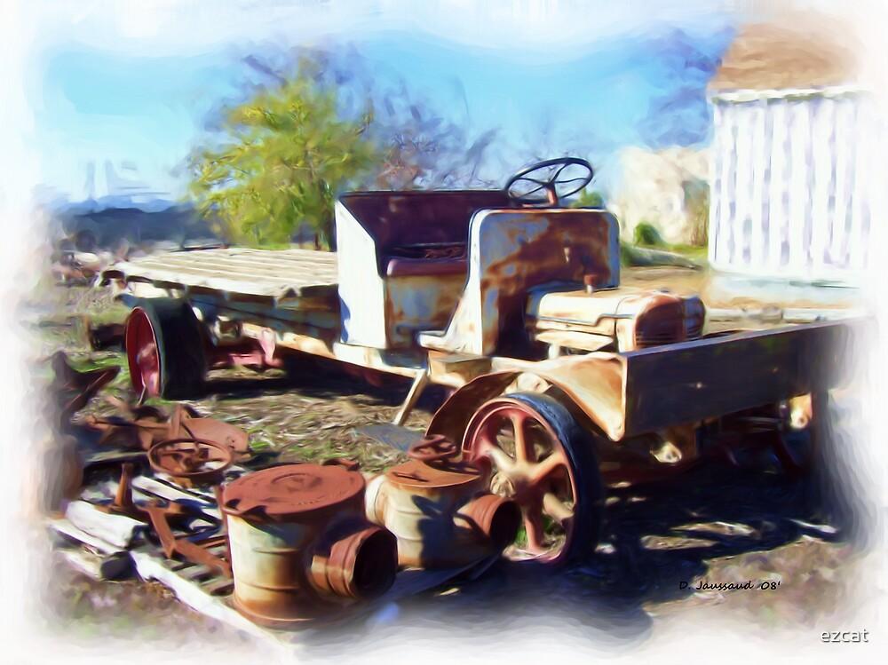 Rusty Old Farm Truck by ezcat