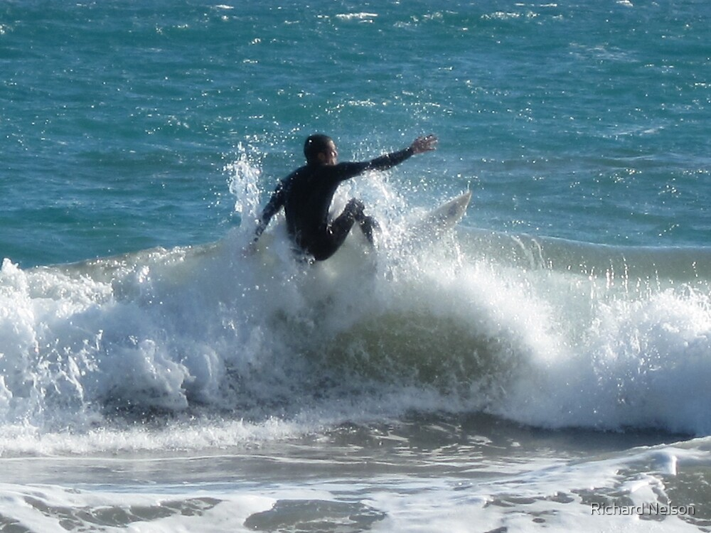 Catching A Wave by Richard Nelson