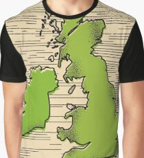 Great Britain By Rail travel poster Graphic T-Shirt