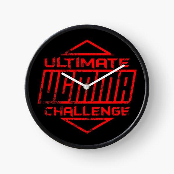 UCMMA distressed logo Clock
