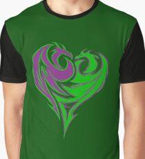 Mal Double Dragon Graphic T-Shirt