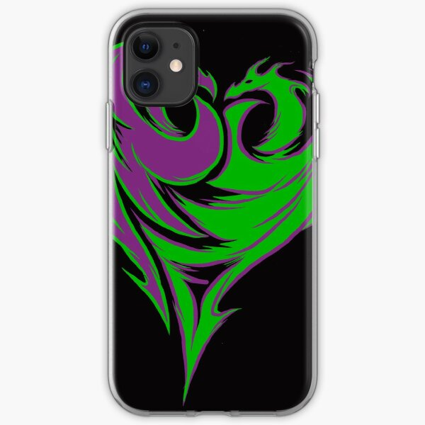 Mal Double Dragon iPhone Soft Case