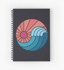 Sun & Sea Spiral Notebook