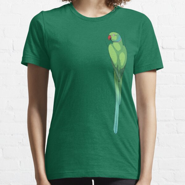 Indian Ringneck Parakeet Essential T-Shirt