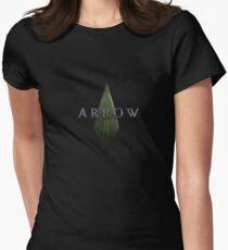 Pfeil Tailliertes T-Shirt für Frauen