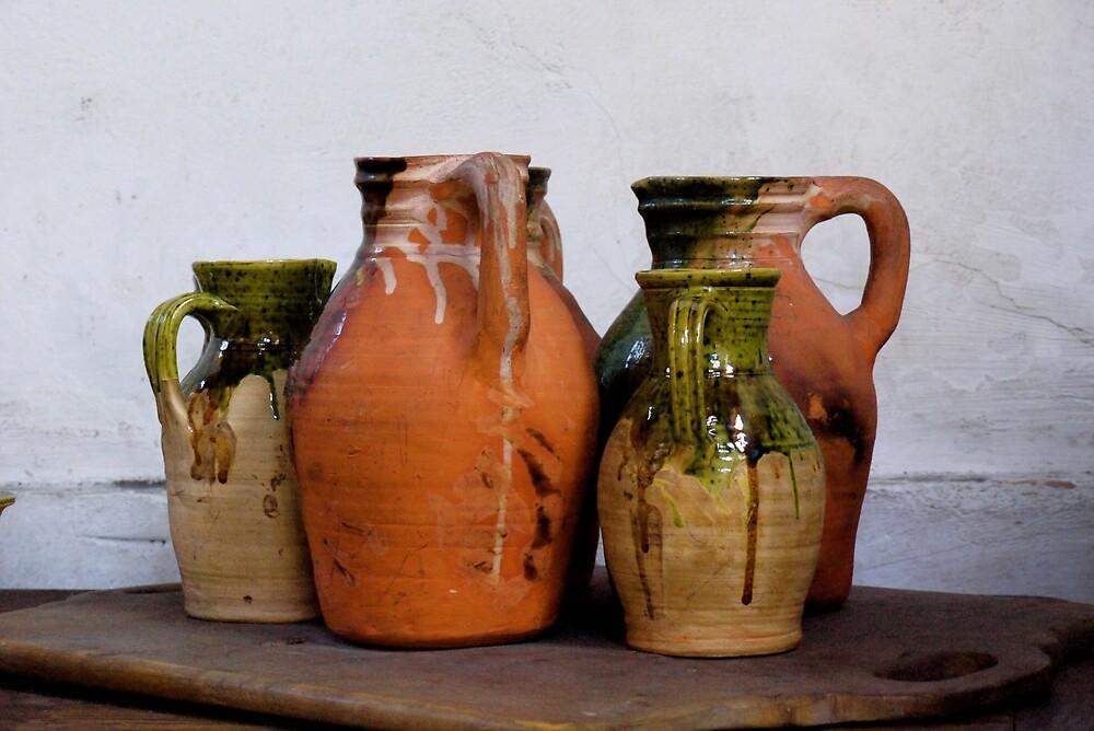Ceramic Jugs by Rae Tucker