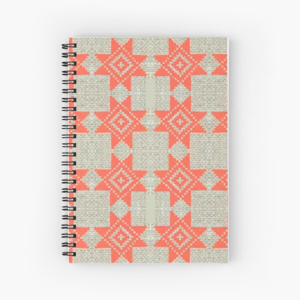 pattern, design, tracery, weave, ornament, decor, garniture, lace, узор, плетение, орнамент, декор, гарнитура, кружева Spiral Notebook