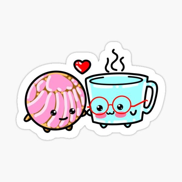 Concha Love Sticker