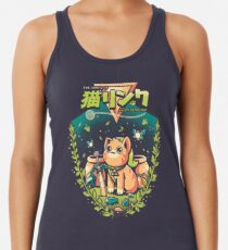 A Kitty to the past Racerback Tank Top