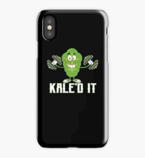 Kaled It Funny Adult Exercise Work Out Vegetarian iPhone Case