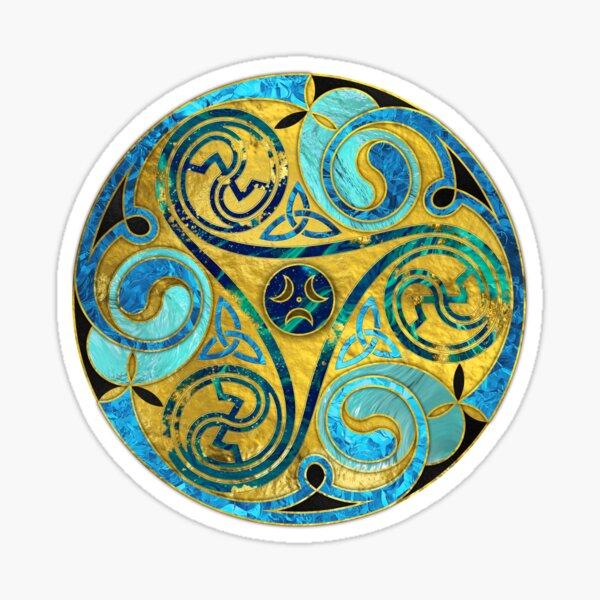 Decorative Triquetra Celtic Ornament  Sticker
