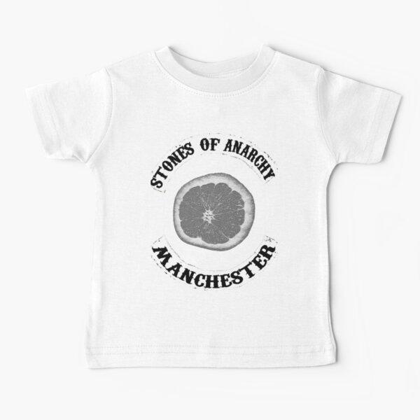 Stones Of Anarchy Manchester (Söhne der Anarchie inspiriert) Baby T-Shirt
