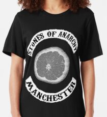 Stones Of Anarchy Manchester (Sons of Anarchy inspired) Slim Fit T-Shirt