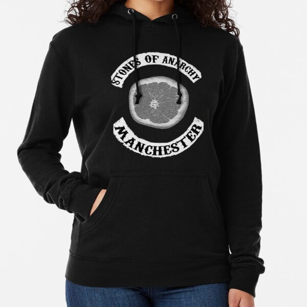 Stones Of Anarchy Manchester (Sons of Anarchy inspired) Lightweight Hoodie