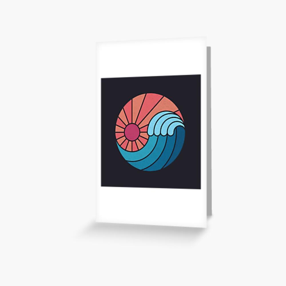 Sun & Sea Greeting Card