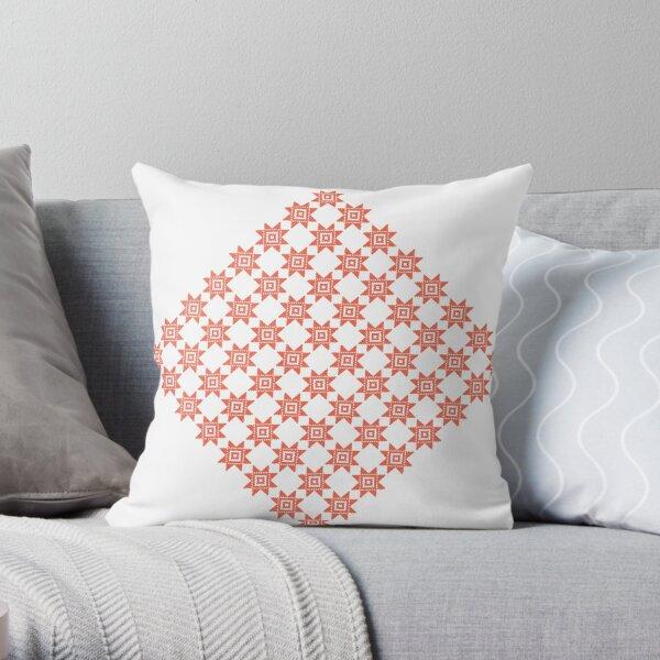 pattern, design, tracery, weave, ornament, decor, garniture, lace, узор, плетение, орнамент, декор, гарнитура, кружева Throw Pillow