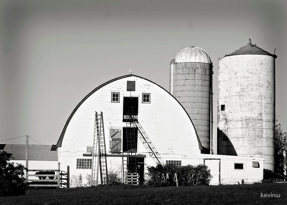 Western Wisconsin Barn by kevinw