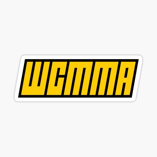 WCMMA logo Sticker