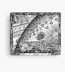The Flammarion Flat Earth Dome Canvas Print
