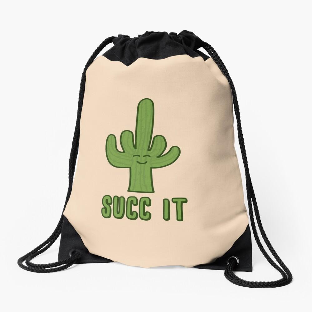 Succ It Drawstring Bag