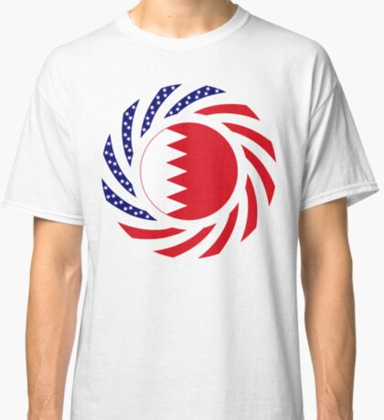 Bahrain American Multinational Patriot Flag Series Classic T-Shirt