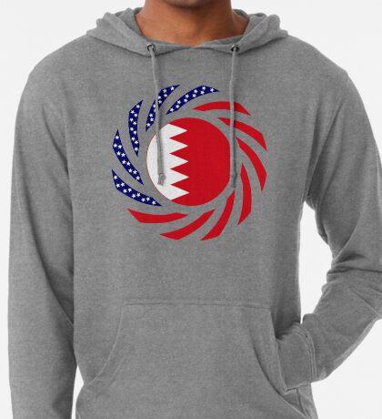 Bahrain American Multinational Patriot Flag Series Lightweight Hoodie