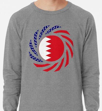 Bahrain American Multinational Patriot Flag Series Lightweight Sweatshirt