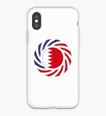 Bahrain American Multinational Patriot Flag Series iPhone Case