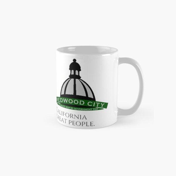 I Love Redwood City 1 Fan Club white coffee mug 3279 Classic Mug