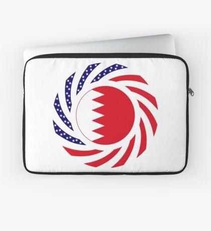 Bahrain American Multinational Patriot Flag Series Laptop Sleeve