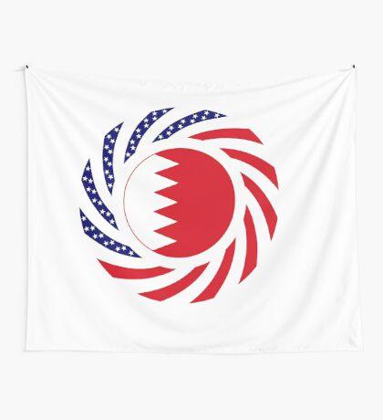 Bahrain American Multinational Patriot Flag Series Wall Tapestry