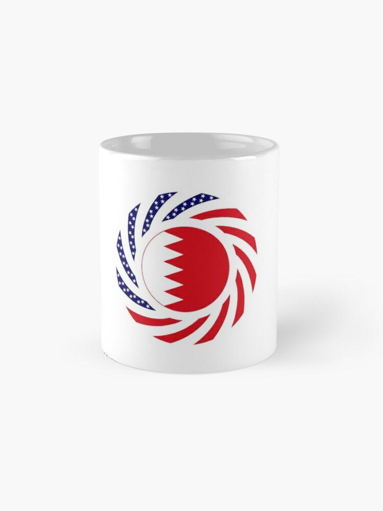 Alternate view of Bahrain American Multinational Patriot Flag Series Mug