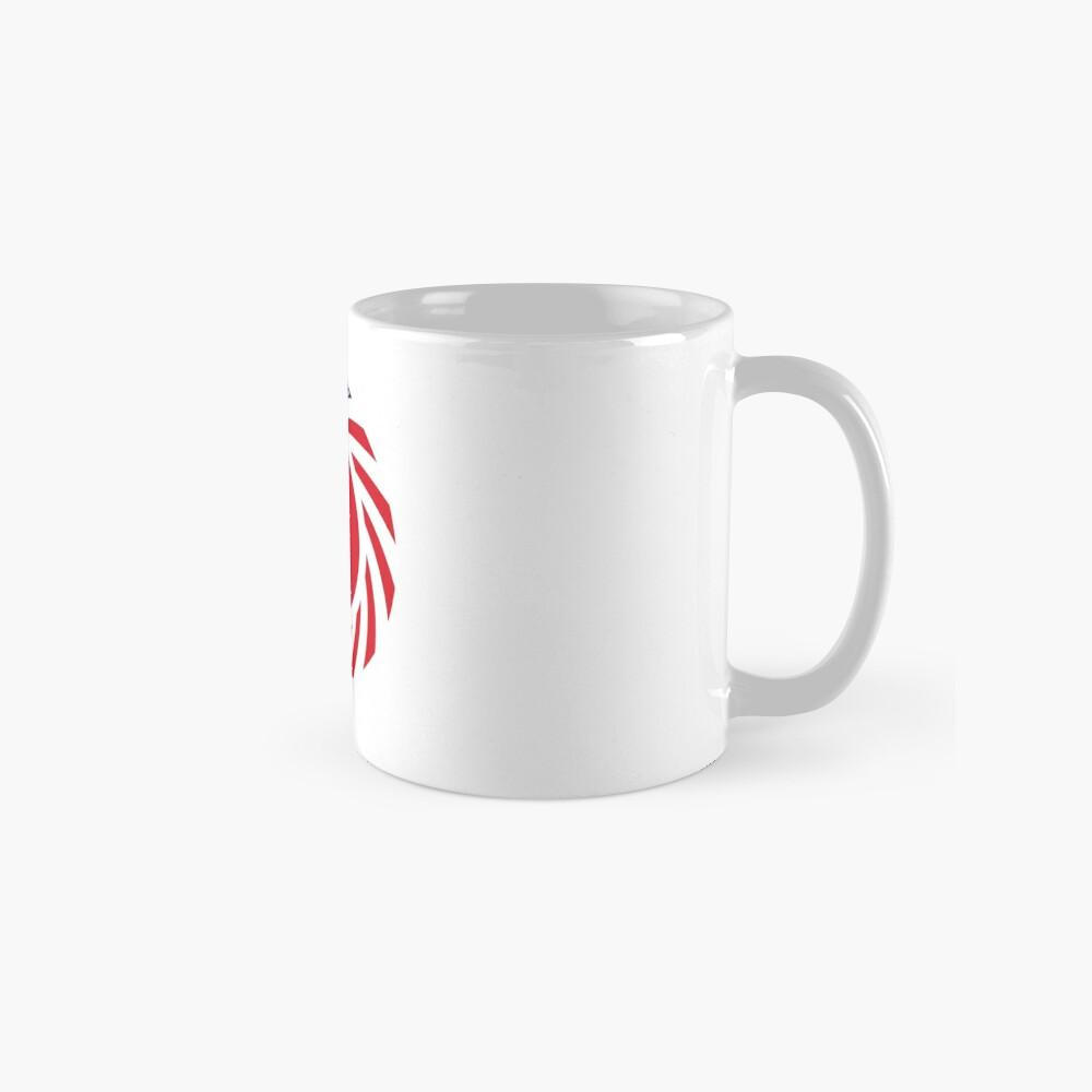 Bahrain American Multinational Patriot Flag Series Mug