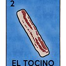 El Tocino the Bacon Funny Loteria Parody by electrovista