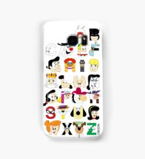 Child of the 60s Alphabet Samsung Galaxy Case/Skin