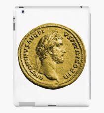 Antoninus Pius Gold Roman Coin iPad Case/Skin
