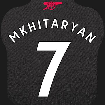 Mkhitaryan Arsenal Cup Shirt Design by dandroid707