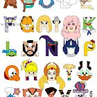 Child of the 80s Alphabet by Mike Boon