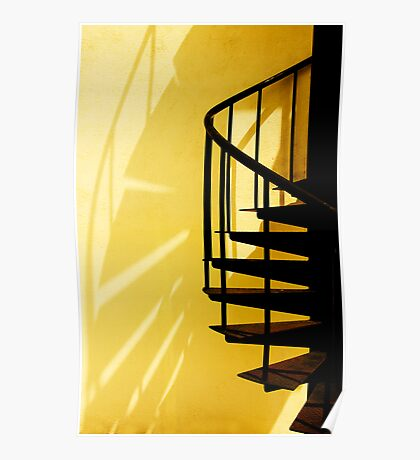 Spiral Staircase @ Noon Time Poster