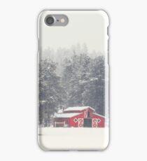 Flagstaff, Az - Red Barn iPhone Case/Skin