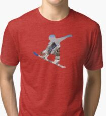 Snowboard  Tri-blend T-Shirt