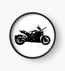 Ducati Diavel - Black Clock