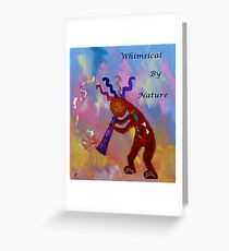 Whimiscal by nature Greeting Card