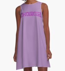 Choirgirl - Tottenham Community Choir A-Line Dress