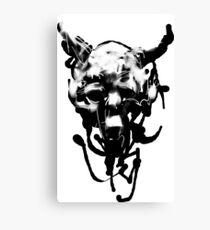 blackcore shrinkhead Canvas Print