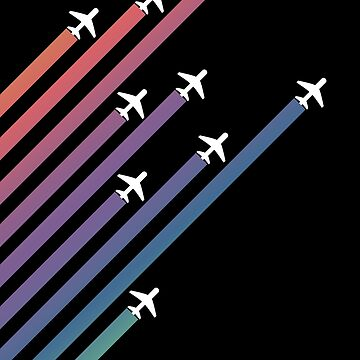 Airplanes and Gradients by TalkingBird