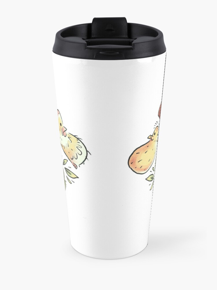 Alternate view of Guinea Pig Diamond  Travel Mug