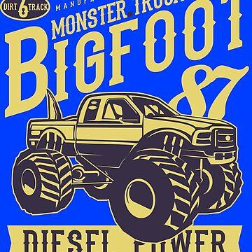 Monster Truck Bigfoot 87 - Diesel Power by flipper42